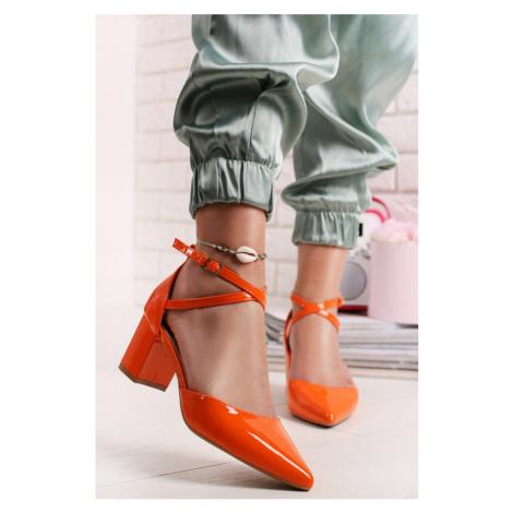 Oranžové lodičky Darlis Belle Women