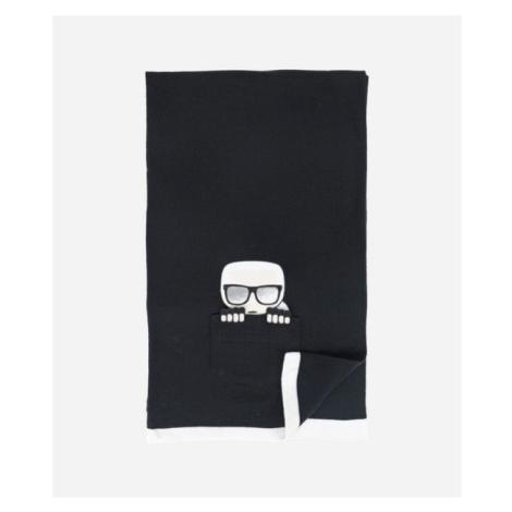 Šál Karl Lagerfeld K/Ikonik Pocket Knit Scarf