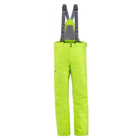 Spyder DARE GTX PANT žltá - Pánske nohavice
