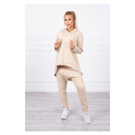 Set with pants Baggy light beige