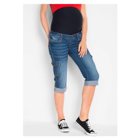 Materské džínsy Capri
