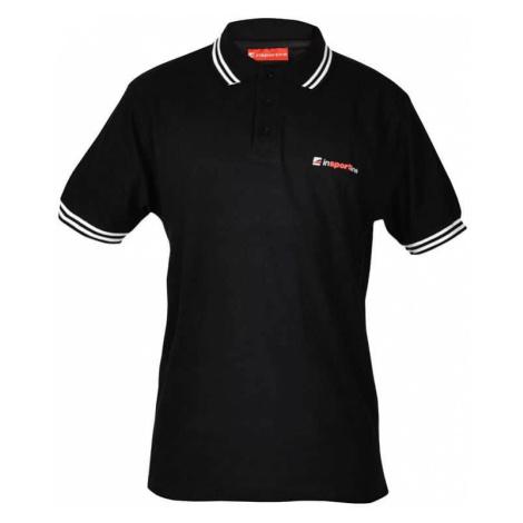 inSPORTline Polo čierna Farba červená