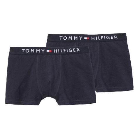 Tommy Hilfiger Underwear Nohavičky  biela / tmavomodrá / melónová