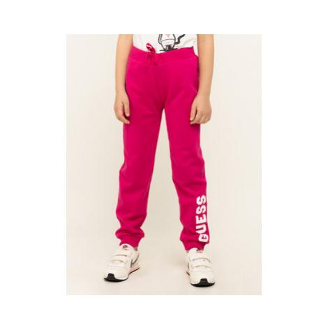 Guess Teplákové nohavice K01Q10 K82T0 Ružová Regular Fit