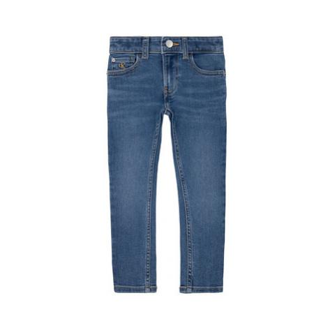 Calvin Klein Jeans Džínsy Essential Fresh IB0IB00337 Tmavomodrá Skinny Fit