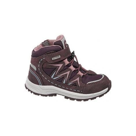 Fialovo-ružová zimná obuv s TEX membránou Elefanten