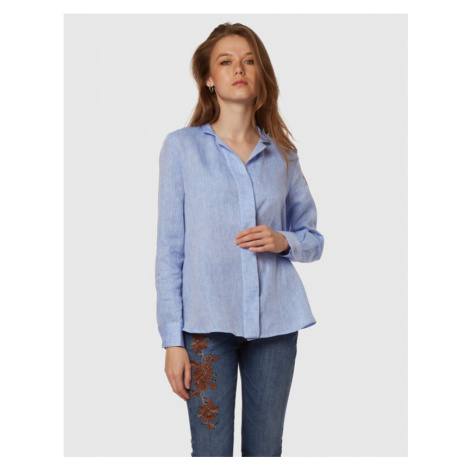 Košeľa La Martina Woman Linen Shirt