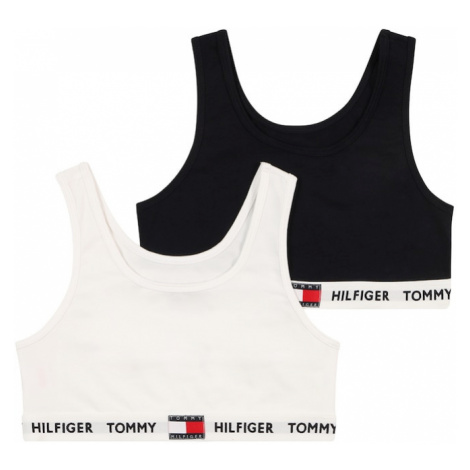 Tommy Hilfiger Underwear Podprsenka  biela / čierna