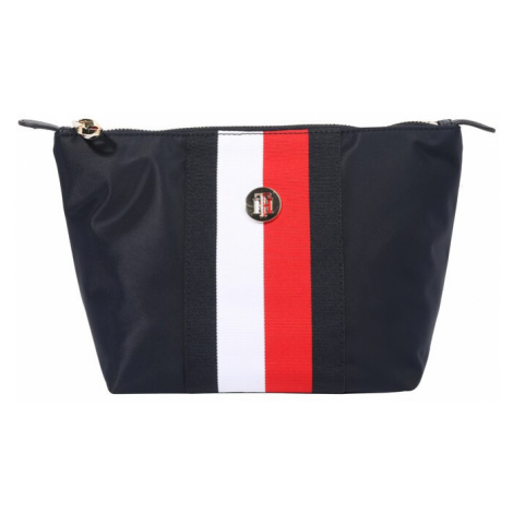 TOMMY HILFIGER Hygienická taška 'POPPY'  biela / červená / tmavomodrá