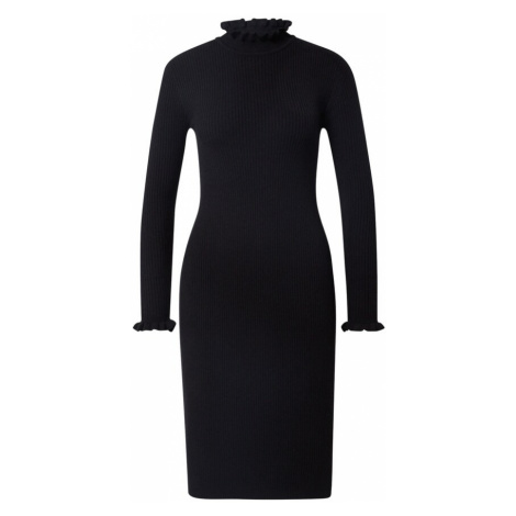 Cream Pletené šaty 'Helena'  čierna
