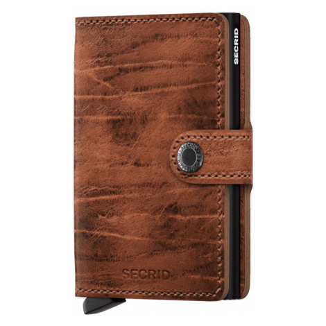 Secrid Miniwallet Dutch Martin Whiskey-One size hnedé MDM-Whiskey-One size