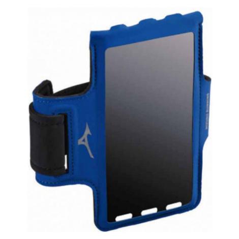 Mizuno RUNNING PHONE ARM BAND modrá - Bežecké púzdro