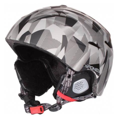 Alberta lyžařská helma barva: grafitová;obvod: 55-58 Spokey