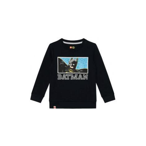 LEGO Wear Mikina 12010048 Čierna Regular Fit