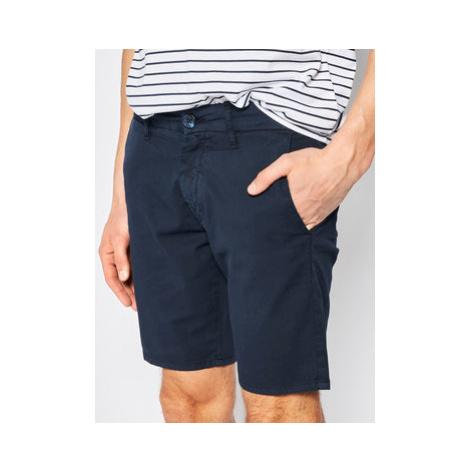 Guess Bavlnené šortky M02D05 WCRK1 Tmavomodrá Regular Fit