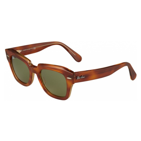 Ray-Ban Slnečné okuliare  béžová / hnedá