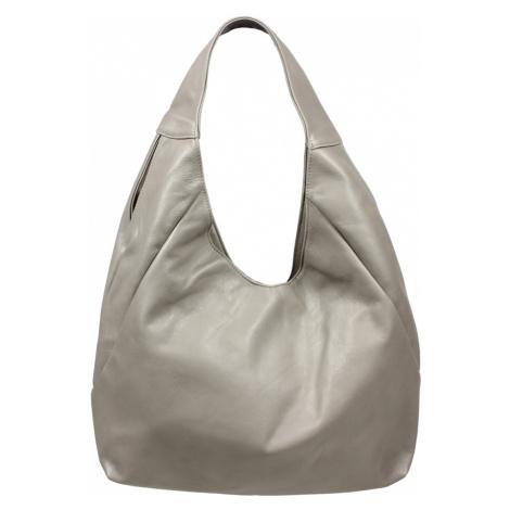 Talianská kožená kabelka Tita Grigia