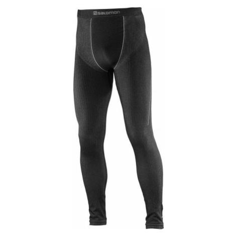Salomon PRIMO WARM TIGHT M čierna - Pánske termo nohavice