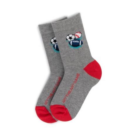 Ponožky Action Boy 16E3BMS3 25-28 polyamid,bavlna,látkové