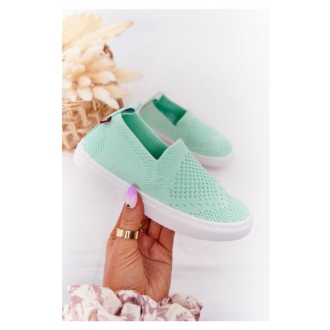 Children's Slip-On Sneakers Big Star HH374101 Mint