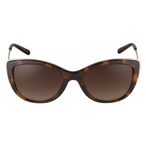 Michael Kors Slnečné okuliare 'Mk 2127u'  béžová / tmavohnedá / zlatá