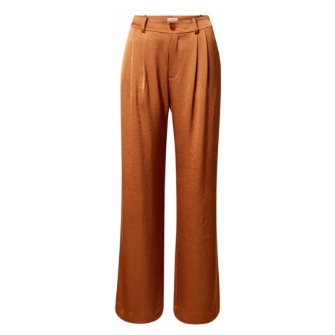 Part Two Plisované nohavice 'Veanna'  oranžová