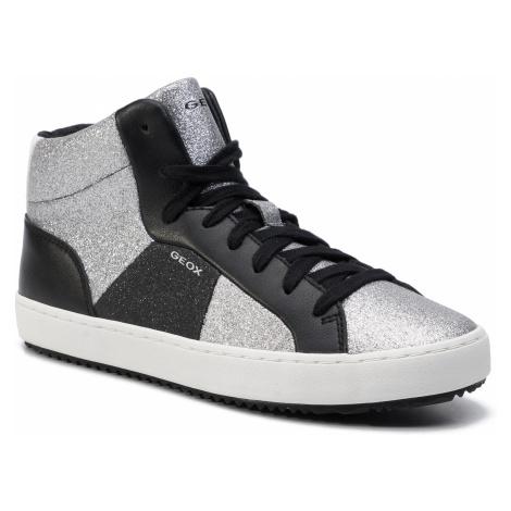 Sneakersy GEOX - J Kalispera G.P J944GB 0CD54 C1007 D Silver