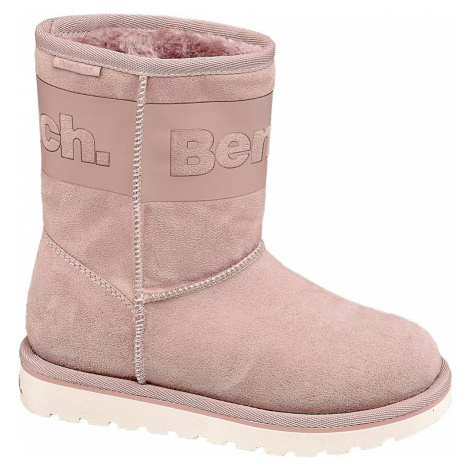 Bench - Ružové dievčenské váľanky s TEX membránou Bench