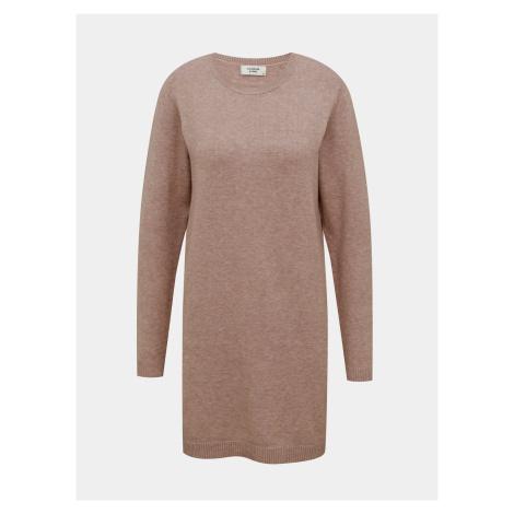 Staroružovej svetrové šaty Jacqueline de Yong Marco