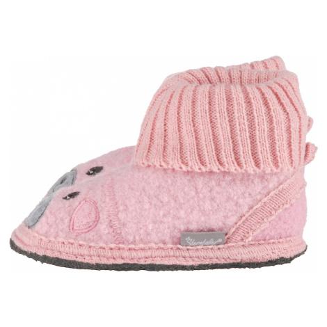 Sivé topánky pre dojčatá a batoľatá