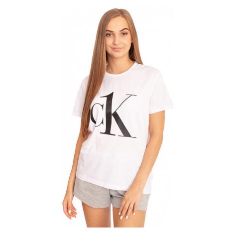 Dámske tričko CK ONE biele (QS6436E-7UM) Calvin Klein
