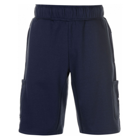 Lonsdale 2 Stripe Fleece Shorts Mens