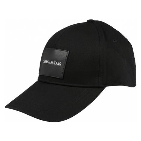 Calvin Klein Jeans Čiapka  čierna / biela