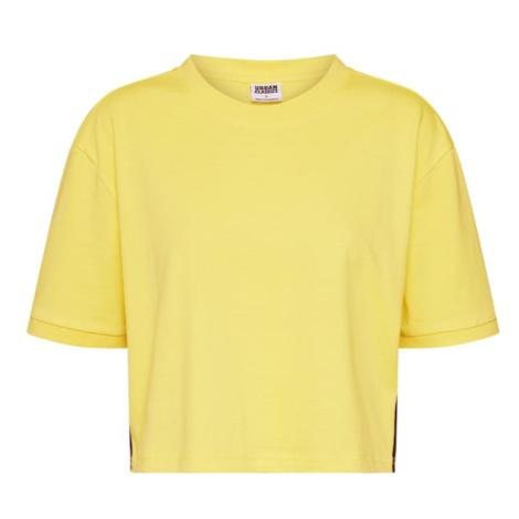 Urban Classics Tričko  žltá / zmiešané farby