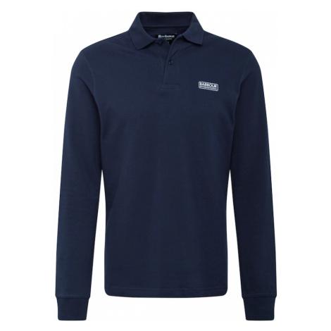 Barbour International Tričko  námornícka modrá / biela