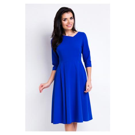 Modré šaty A157 Awama