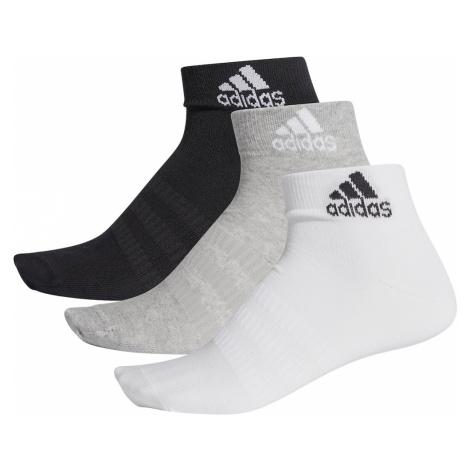 ADIDAS PERFORMANCE Športové ponožky  čierna / sivá / biela