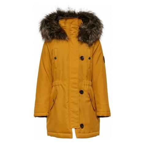 KIDS ONLY Zimná bunda 'IRIS'  zlatá žltá