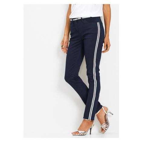 Strečové džínsy so štrasom bonprix