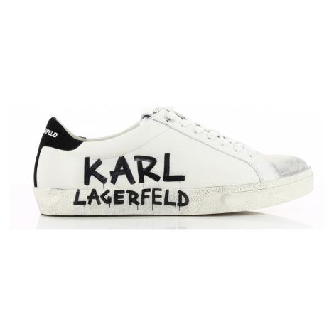 Tenisky Karl Lagerfeld Skool Brush Logo Lo Lace