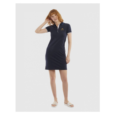 Šaty La Martina Woman Dress S/S Piquet Stretch