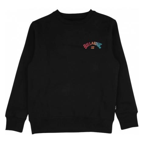 BILLABONG Športová mikina 'OKAPI'  čierna / zmiešané farby