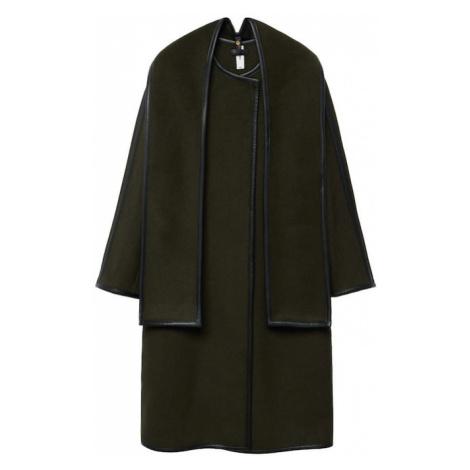 MANGO Prechodný kabát 'Praline'  kaki