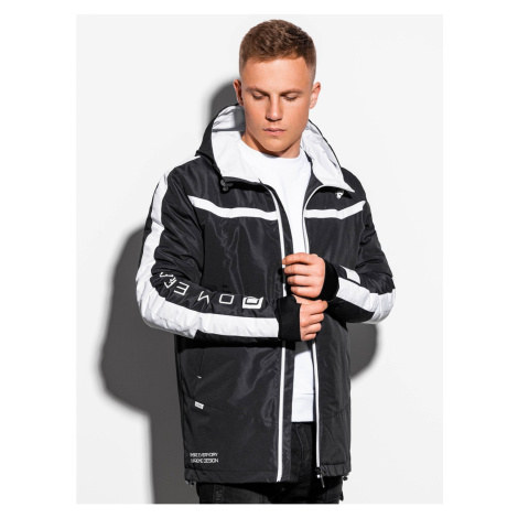 Ombre Clothing Men's mid-season quilted jacket C455