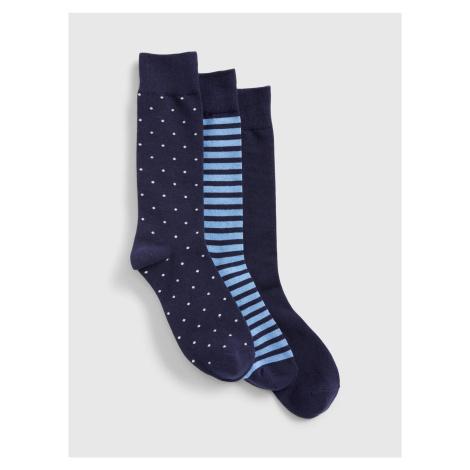 Farebné pánske ponožky GAP 3-Pack