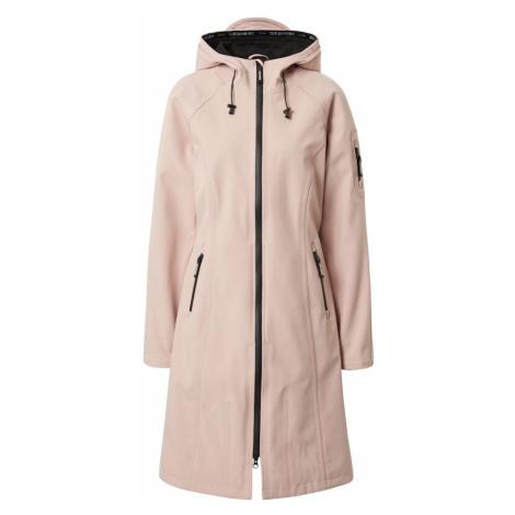 ILSE JACOBSEN Prechodný kabát  rosé