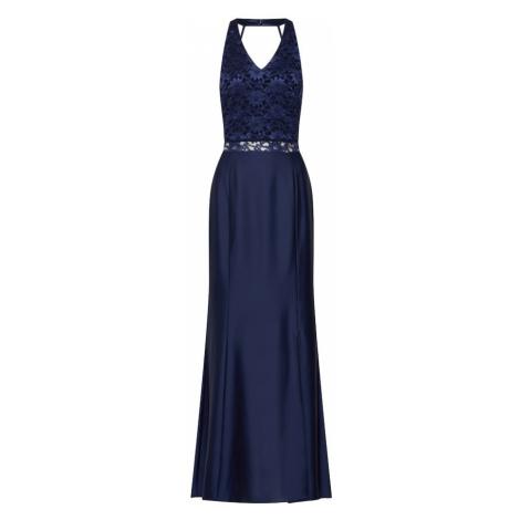 SWING Večerné šaty  námornícka modrá