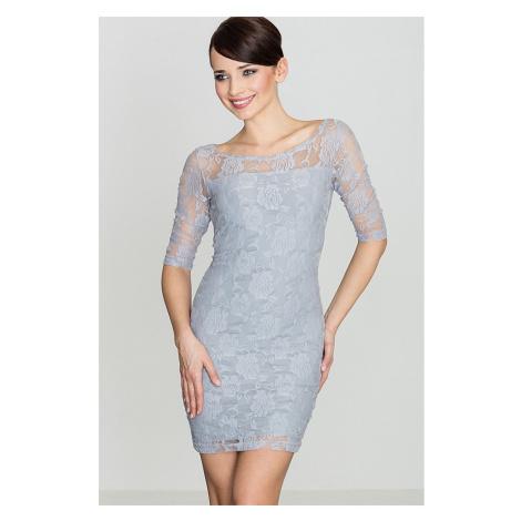 Lenitif Woman's Dress K109 Grey