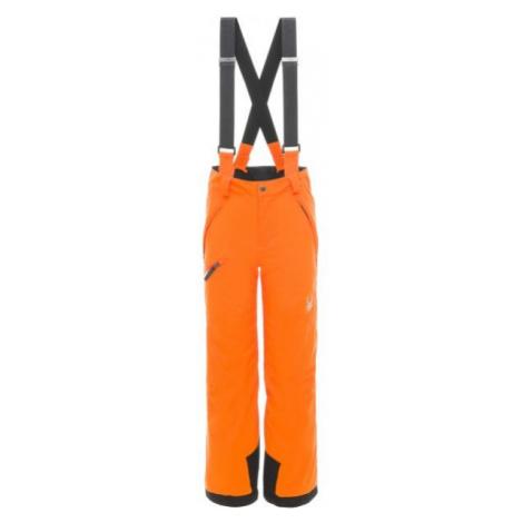 Spyder PROPULSION PANT oranžová - Chlapčenské lyžiarske nohavice