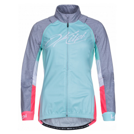 Women's cycling jacket Zain-w turquoise - Kilpi